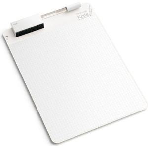 クリーンノート Kaite(カイテ)方眼A4。目指したのは紙のような書き心地。磁性シートを使った、何...
