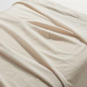 無印良品 インド綿パイルタオルケット・D/生成 180×200cm 82051391 良品計画 毛布...