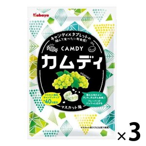 キャンディ×タブレットの、噛んで食べたくなるさくさく、ほろほろの新食感です。噛んだ瞬間にマスカット味...