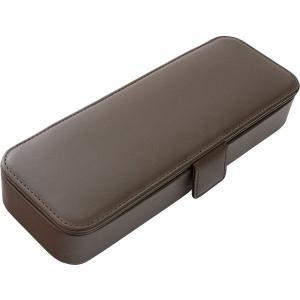 アウトレット/訳あり/わけあり サクラクレパス 革製ペンケースMチョコレート USL-05#148 ...