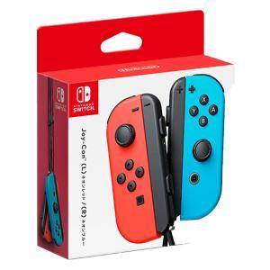 任天堂 Nintendo Switch専用 Joy-Con(L)ネオンレッド/(R)ネオンブルー ゲ...