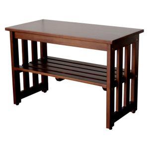 玄関先の腰掛け用としてとても便利な玄関ベンチ。バルコニーでの使用や、プランター置きとしてもオシャレに...