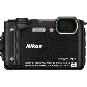 ニコン デジタルカメラ COOLPIX W300 ブラック COOLPIXW300BK(直送品)