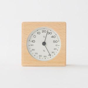フレームに硬くて丈夫なブナ材を使用し、角がまるく手触りの良い温湿度計です。精度(誤差):温度±2℃、...
