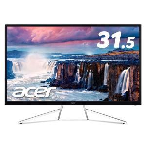 Acer 31.5インチワイド液晶モニター ホワイト 3年保証 ET322QKwmiipx 1台(直...