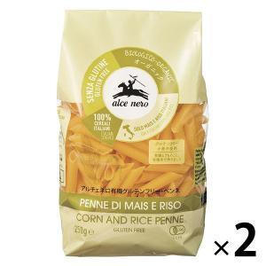 イタリア産の有機トウモロコシ粉と有機米粉から作られた、小麦を使用していないショートパスタ。小麦不使用...