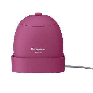 パナソニック モバイル衣類スチーマー NI-MS100-VP ショット式 海外電圧対応 タンク容量約...