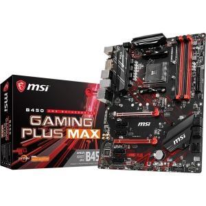 MSI AMD B450 ATX マザーボード B450 GAMING PLUS MAX(直送品) ...