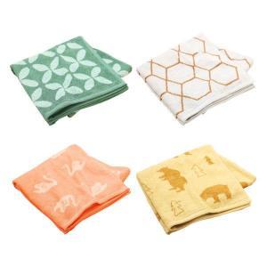 福袋/ ロハコ限定/ バスタオル ジャガード デザインアソート 4枚セット 抗菌防臭加工 バスタオル