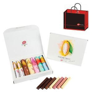 キットカット ショコラトリー カカオフルーツチョコレートアソート 1箱(7本入) ネスレ日本 紙袋付...