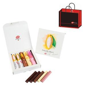 キットカット ショコラトリー カカオフルーツチョコレートアソート 1箱(5本入) ネスレ日本 紙袋付...