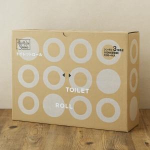 トイレットペーパー シングル 180m ロハコ限定トイレットロール3倍巻(個包装) 1箱(12ロール...