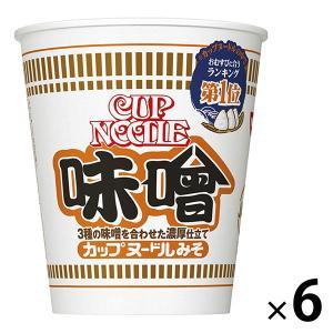 カップヌードル 味噌 6個 カップラーメン