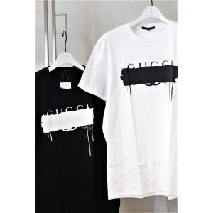 ca53b5145eab BLACKSCORE GUCCI Cross Print T-Shirt 今シーズン最終入荷 予約受付 ブラックスコア 10391044
