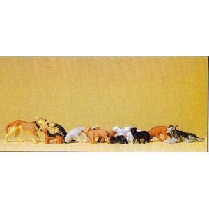 Preiser(プライザー)犬と猫 y-bonsai