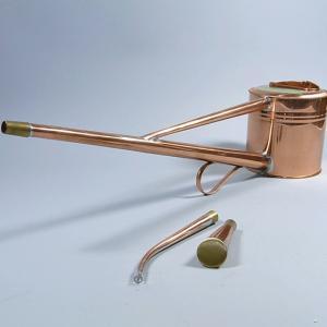 如雨露:銅製竿長盆栽如雨露 2号 1.8L *2号 90220-2 ジョーロ じょーろ ジョウロ じょうろ|y-bonsai