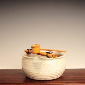 つくばい(信楽焼) |y-bonsai