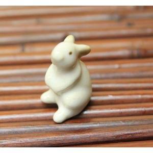 陶器オブジェ:ウサギ|y-bonsai