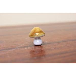 陶器オブジェ:きのこ|y-bonsai
