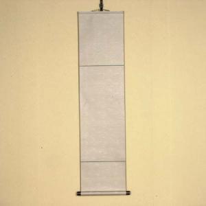 掛け軸:正絹色紙掛け(灰色)|y-bonsai
