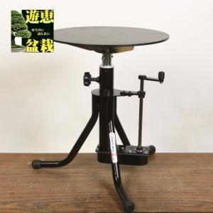 八木光手動式手入れ作業台 B型 (天板ゴム張り) 50cm|y-bonsai