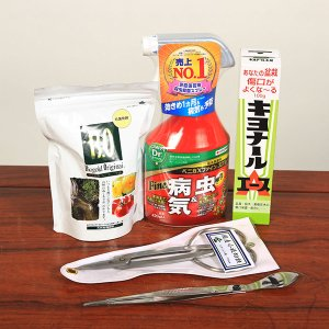 初めての方にオススメ:初心者用盆栽デビューセット *道具セット(まとめ割)|y-bonsai