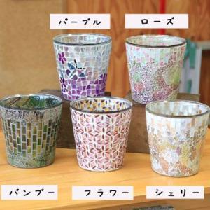 雑貨 ガラス製鉢カバー:ボーテガラスポットa* 16cm(内径14.5)X16cm(5号鉢用)|y-bonsai
