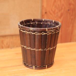 雑貨ポットカバー:アジイシールドバスケットMサイズ*28cm|y-bonsai