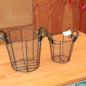 SALE 雑貨 ポットカバー:ポティロンバスケットシェイプS*21cm*|y-bonsai