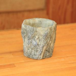 雑貨 鉢カバー:カウイータバークシリンダー M 15cm*|y-bonsai