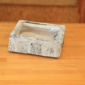 雑貨 鉢カバー:エコルシャロウスクエアS*|y-bonsai
