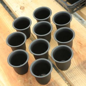 プラスチックポット 2.5号*10個セット|y-bonsai