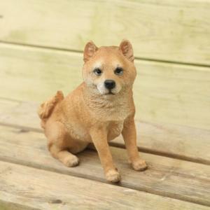 雑貨 置物・フィギュア:柴犬*w-451|y-bonsai