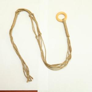 雑貨:プラントハンガーS ハンギング*マクラメ編み|y-bonsai