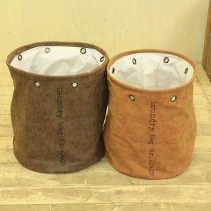 雑貨 鉢カバー:ランドリーバック*RT02BR RT02CA|y-bonsai