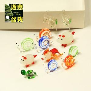 雑貨 ガラス細工:ガラス細工12個セット|y-bonsai