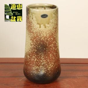 花瓶:信楽焼寸胴花入れ 7号|y-bonsai