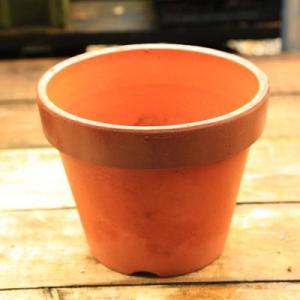素焼き鉢 駄温深鉢8号 y-bonsai