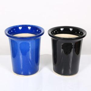 大特価:国産丸深鉢 6号  y-bonsai