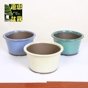 盆栽鉢:国産丸反り鉢 大 5号 y-bonsai