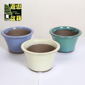 盆栽鉢:国産丸反り鉢 小 4号 y-bonsai
