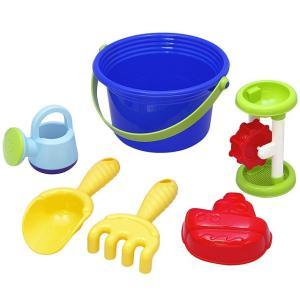 お砂場遊び6点セット:お砂場で砂を詰めたり、お風呂でも水車遊びなどに使えます。 ■本商品はネームプレ...