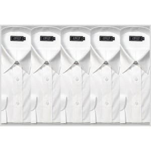 シャツ 白 ワイシャツ5枚セット!制服 ユニフォームにも y-cravat-ueda