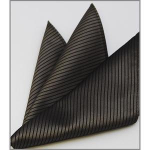 ポケットチーフ 法事用  国産 シルク 無地 ネクタイとセットにも  グレー系 法事 法要 礼装|y-cravat-ueda