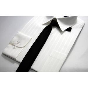 フォーマルネクタイ ブラック(黒)ナロータイ ネクタイ お葬式 お通や|y-cravat-ueda