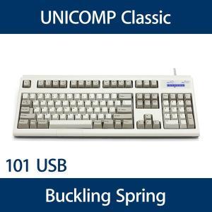 Unicomp Spacesaver Mモデル バックリングスプリング機構 MAC配列(104キー) USB 白 UNIZPHA 【2017年12月・仕様変更あり】 y-diatec