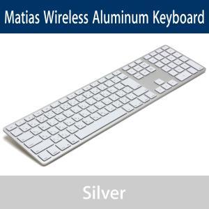 Matias Wireless Aluminum Keyboard - Silver 日本語配列 FK418BTS-JP y-diatec