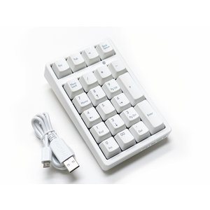 FILCO Majestouch TenKeyPad 2 Professional CHERRY MX SILENT軸 マットホワイト FTKP22MPS/MW2|y-diatec