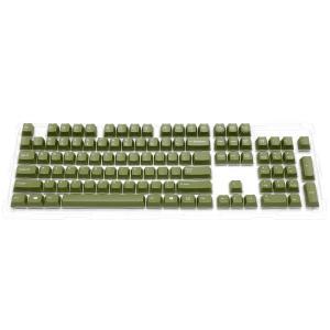 【通販限定】Majestouch 交換用カラーキーキャップセット 英語104キー・US ASCII・オリーブグリーン FKCS104EO|y-diatec