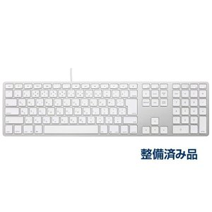 【NEW】Matias Wired Aluminum keyboard for Mac -Silver 日本語配列 FK318S-JP【整備品】|y-diatec